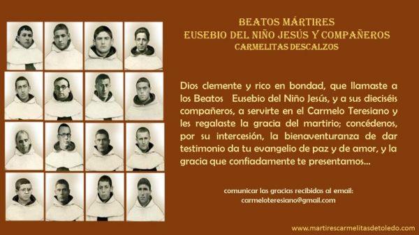Carmelitas mártires de Toledo.