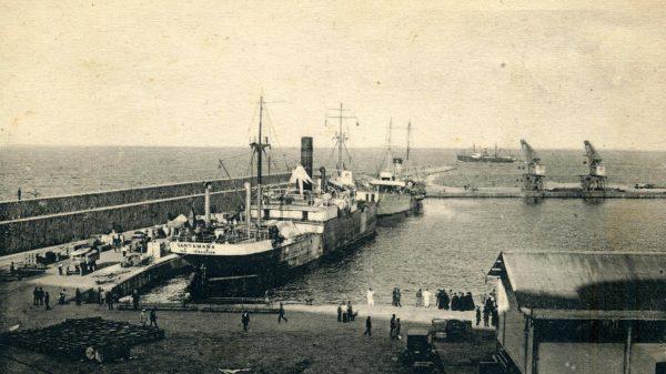 El Río Segre, llamado Santamaña hasta 1928, y en la posguerra Cabo San Sebastián hasta su desguace en 1964.