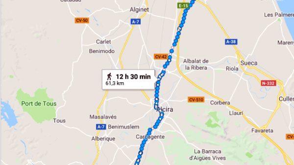 Itinerario martirial del padre Antonio Silvestre.