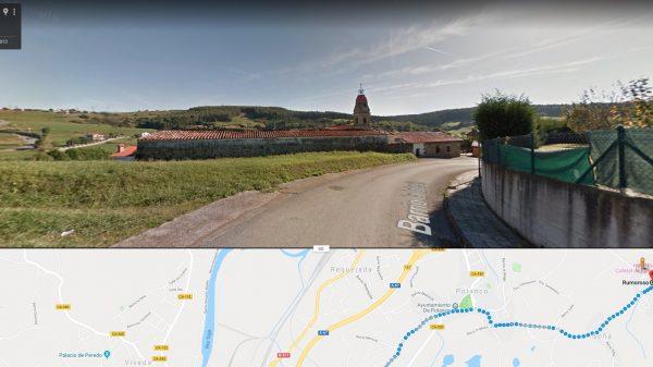 Rumoroso, localidad cántabra donde sufrieron martirio los beatos trapenses padre Vicente y padre Eugenio.