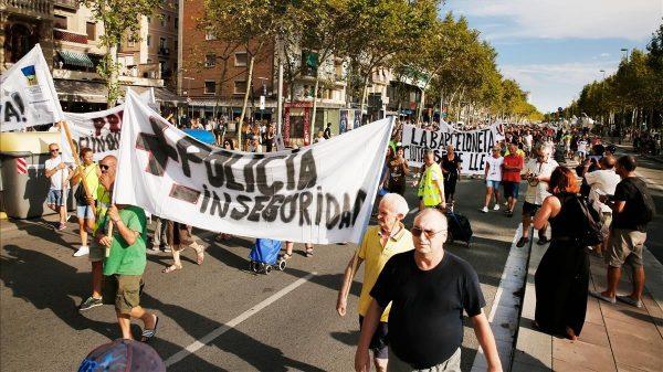 Barcelona inseguridad