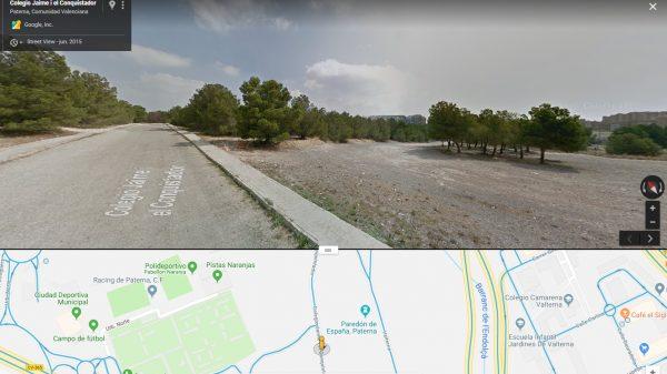 Zona al este del cementerio de Paterna, conocida durante la guerra como Picadero.