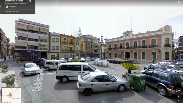 Plaza mayor (Dr. Cajal) de Cheste.