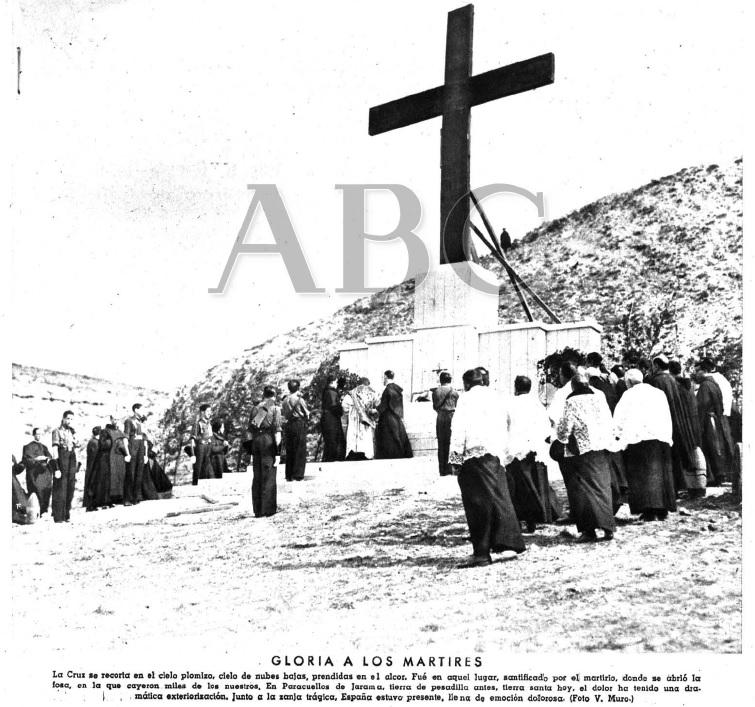 Portada de ABC, 20.2.1940, sobre el homenaje realizado dos días antes.