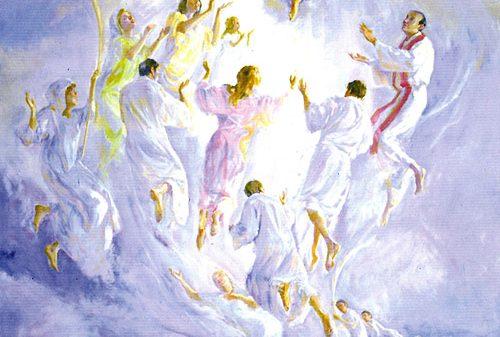 La glorificación de los mártires valencianos, lienzo de José Grassa.