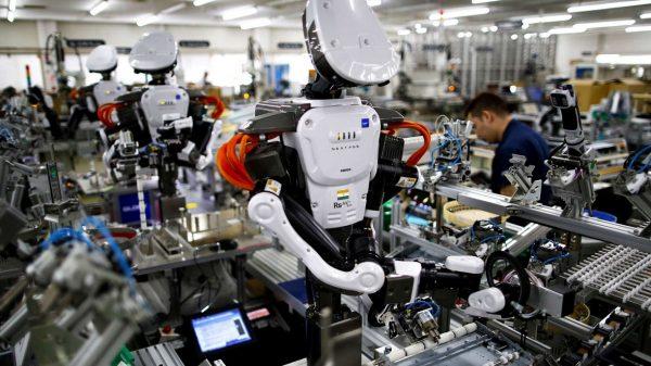 Los robots van sustituyendo a los trabajadores