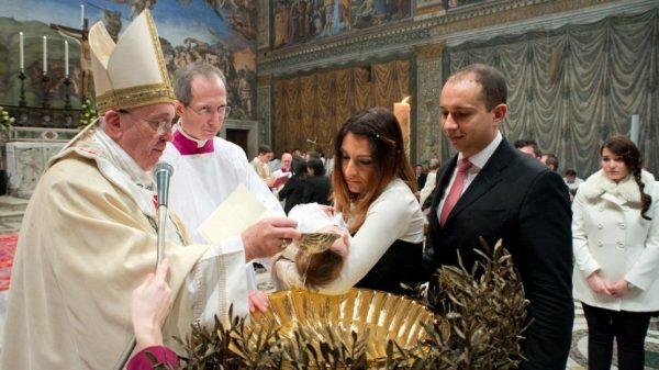 bautismo papa francisco