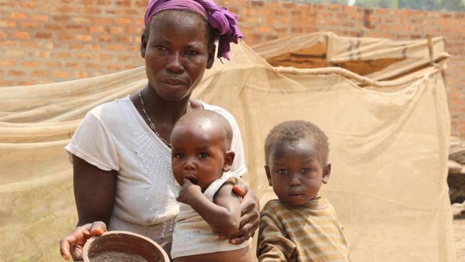 hambre en África