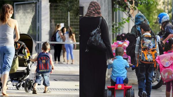 población musulmana y cristiana