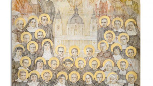 Icono de los Mártires del Siglo XX en Madrid.