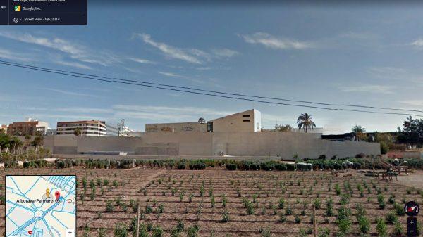 Estación de metro Alboraya-Palmaret, en el lugar donde el 13 de agosto de 1936 martirizaron a dos sacerdotes claretianos.