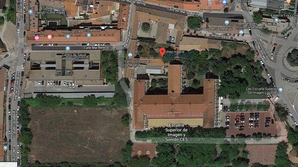 Terrenos del antiguo colegio de paúles y Cuartel de Hortaleza.