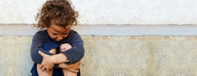 Los niños, la cara más amarga de la vulnerabilidad