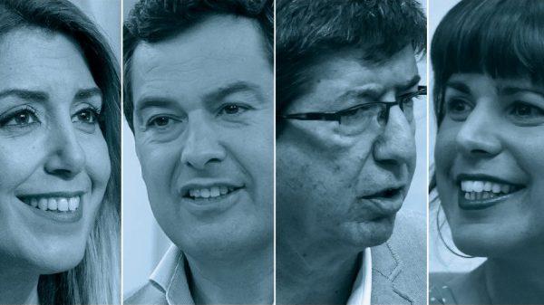 Candidatos a las elecciones andaluzas