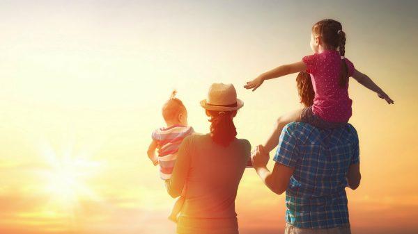 Las familias con hijos generan bienestar