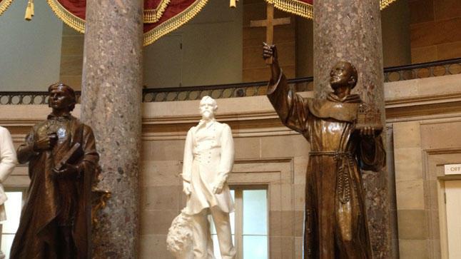 Fray Junípero en el Capitolio de Washington