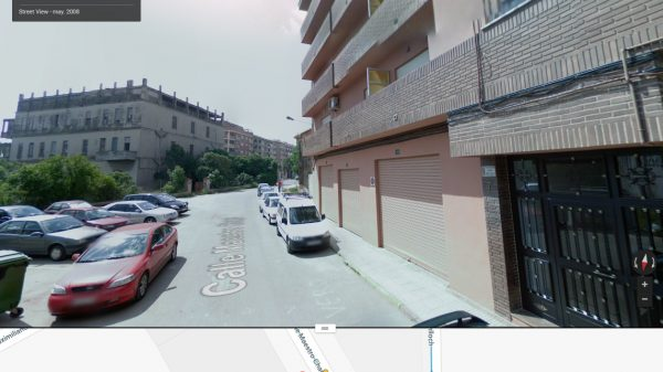 Actual nº 7 de la calle Maestro Chapí en Valencia.