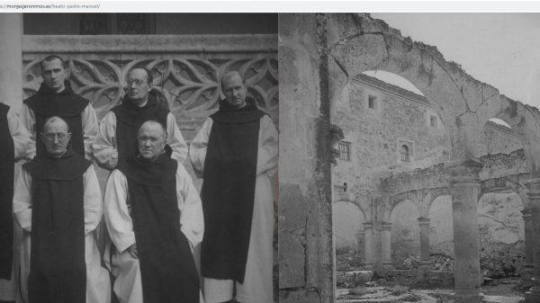 Página del Monasterio del Parral sobre el beato Manuel.