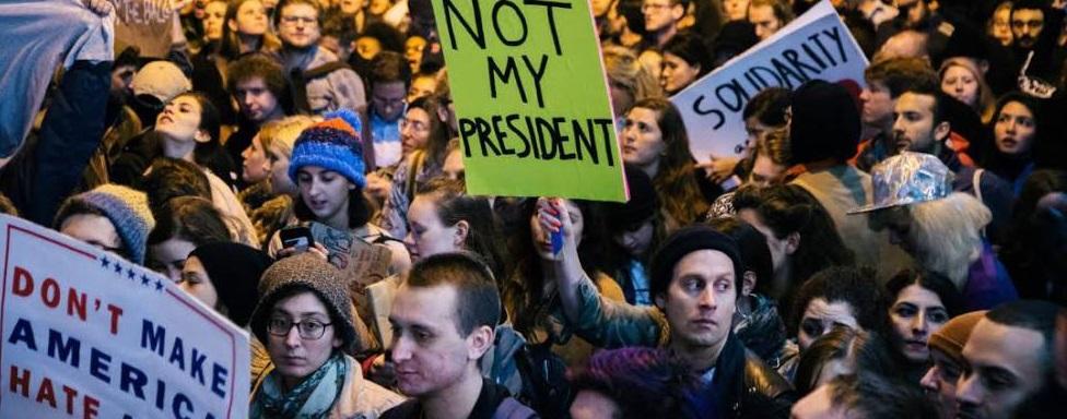contra la gestión de Trump