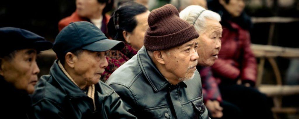El envejecimiento de la población china va en aumento