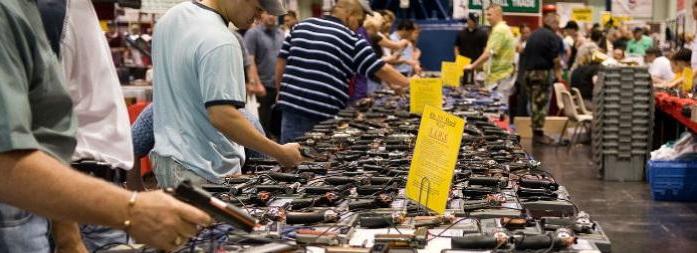 Comprar armas de fuego en Estados Unidos