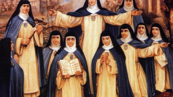 Las diez mártires del convento de concepcionistas franciscanas de San José en Madrid.