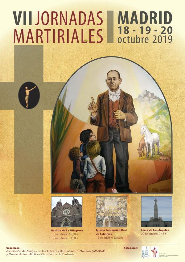 Cartel de las VII Jornadas Martiriales.