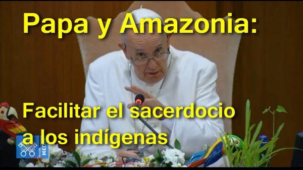 Intervención del Papa en la última congregación del Sínodo del Amazonas.