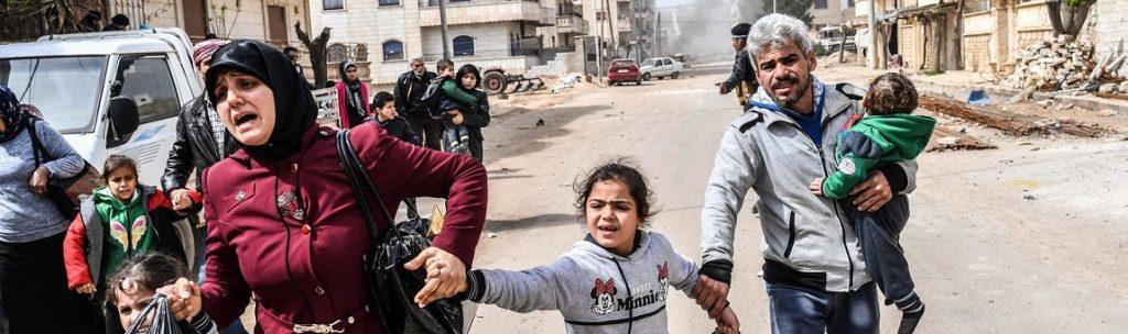 refugiados y guerras