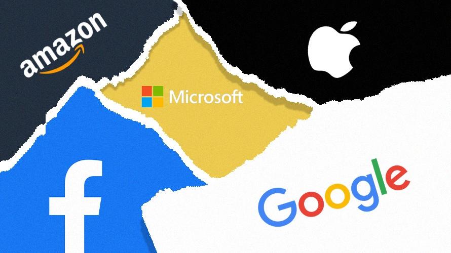 Facebook Apple Microsoft Amazon Google