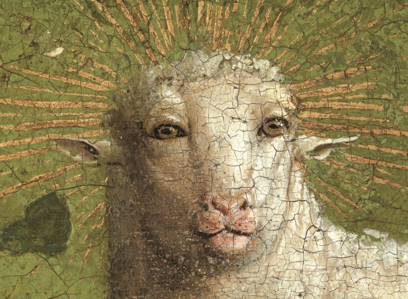 Qué querían simbolizar Van Eyck con su cordero místico?