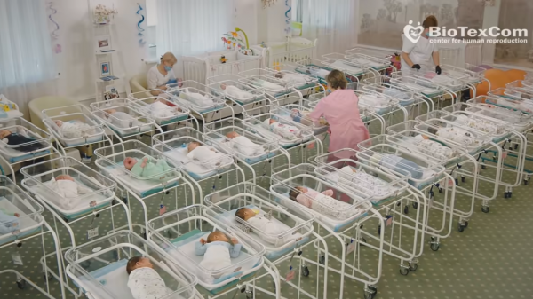 Cientos de niños comprados de vientres de alquiler se encuentran bloqueados debido al covid-19