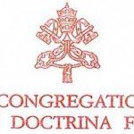 Congregación doctrina de la Fe