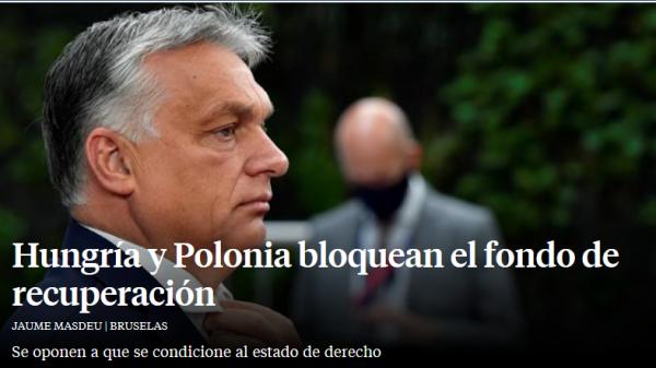 La verdad sobre el bloqueo húngaro y polaco al fondo de recuperación.