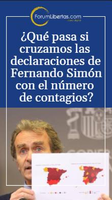 Las peregrinas declaraciones de Fernando Simón 08/01/2021