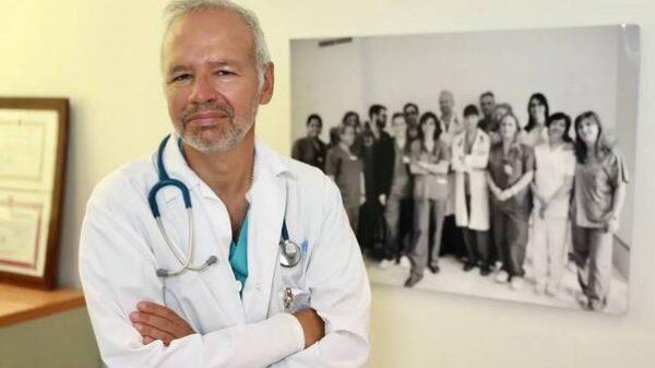 presidente de los médicos de Madrid