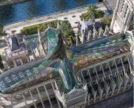 ¿Cómo será el nuevo domo de la Catedral de Notre Dame?