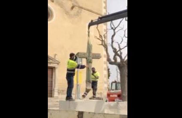cruz Sant Vicenç de Montalt