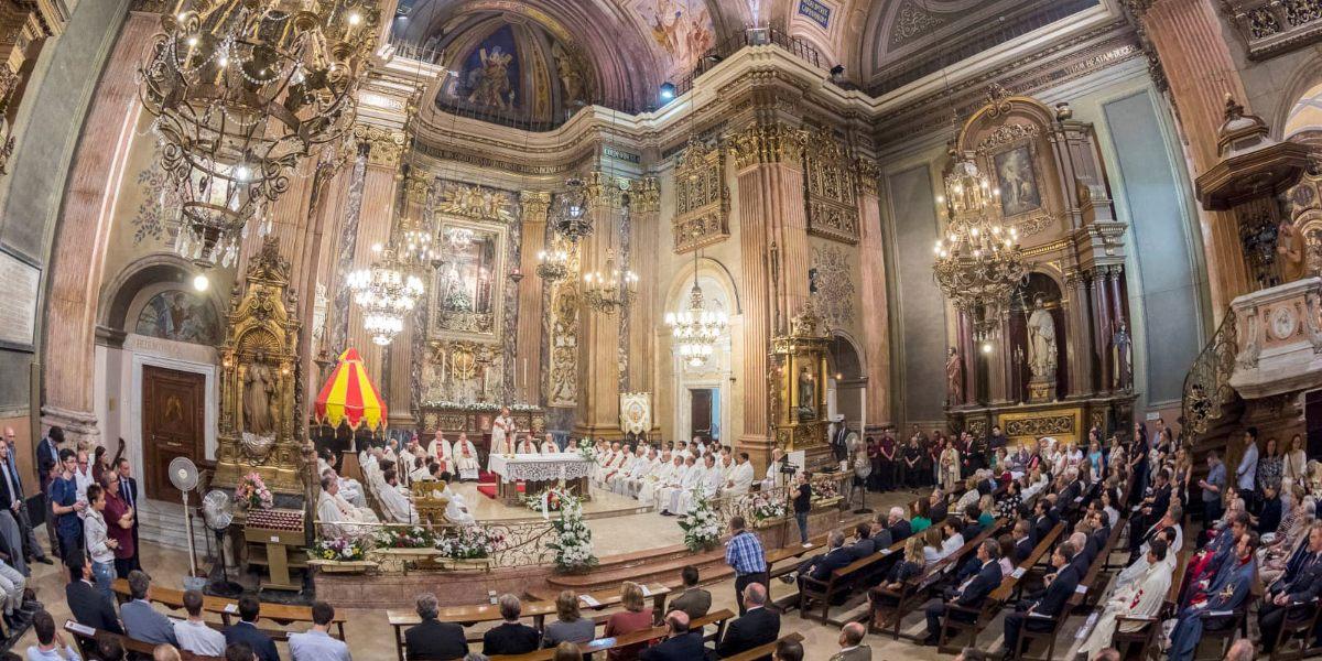 El próximo miércoles, misa para que la Virgen de la Mercè interceda sobre los males de la pandemia